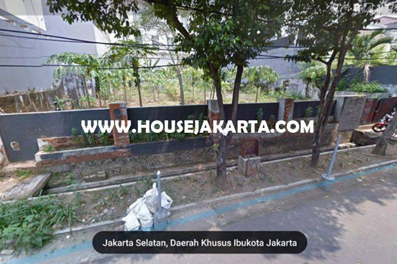Tanah Jalan Tulodong Senopati kebayoran Baru Depan Taman Kotak Dijual Murah
