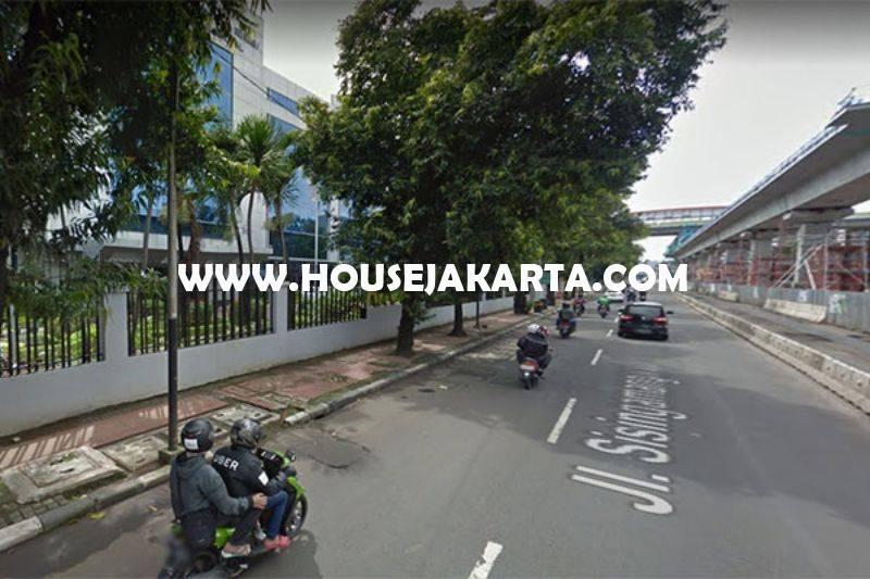 Rumah jalan Sisingamangaraja Kebayoran Baru bisa komersial kantor Tanah kotak Dijual Murah