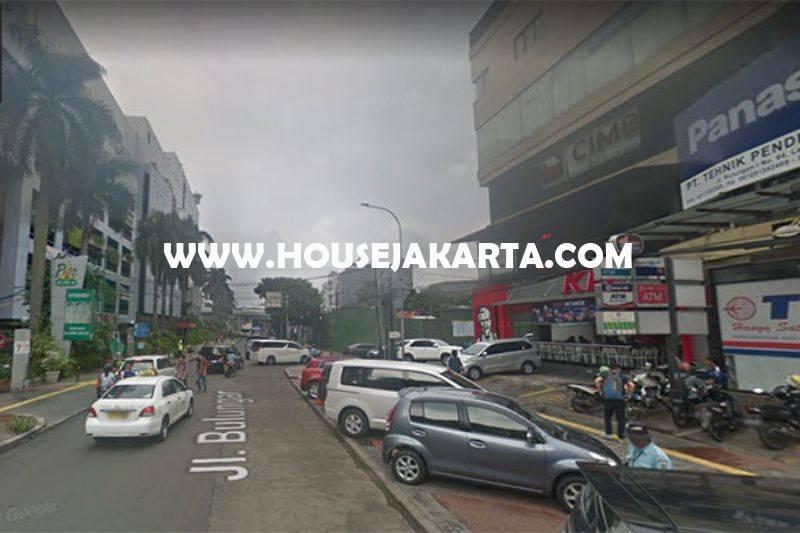 Rumah bisa komersial 3 Lantai jalan Bulungan Raya Blok M kebayoran baru Dijual Murah 45 juta/m