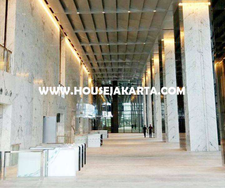 Dijual kantor Office District 8 SCBD Sudirman Senopati Treasury Tower Lantai Tinggi