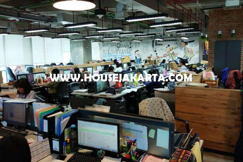 Kantor di Office 88 Kota Kasablanka 1 lantai Luas 1700m Dijual Murah 40 juta/m