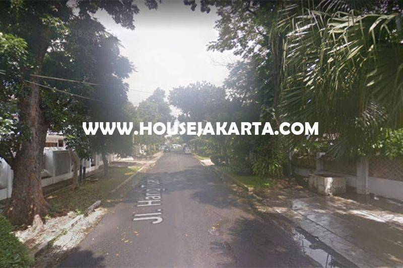 Rumah Jalan Hangtuah Kebayoran Baru dekat Senayan Senopati Dijual