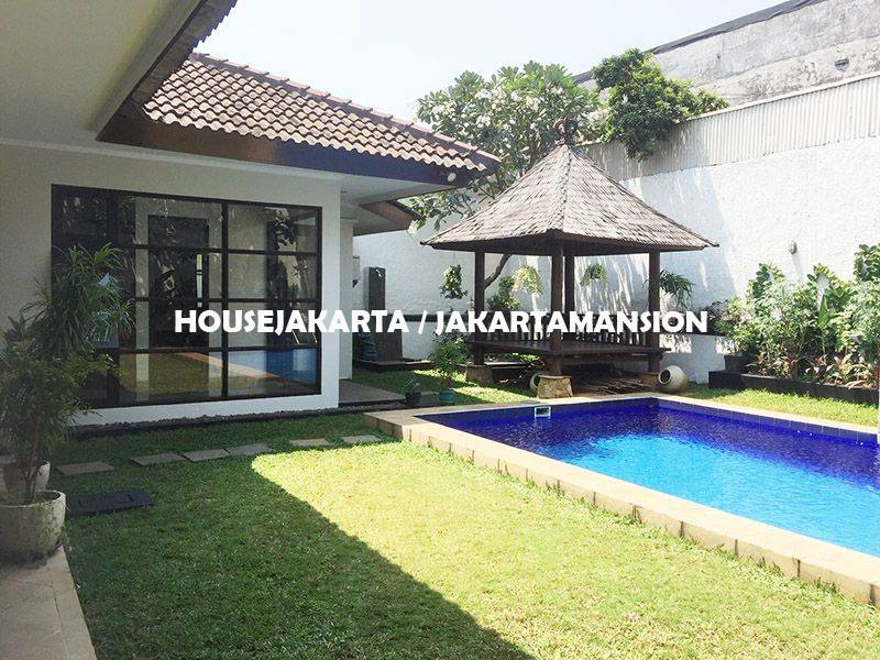 House for Rent sewa lease at Bangka Kemang