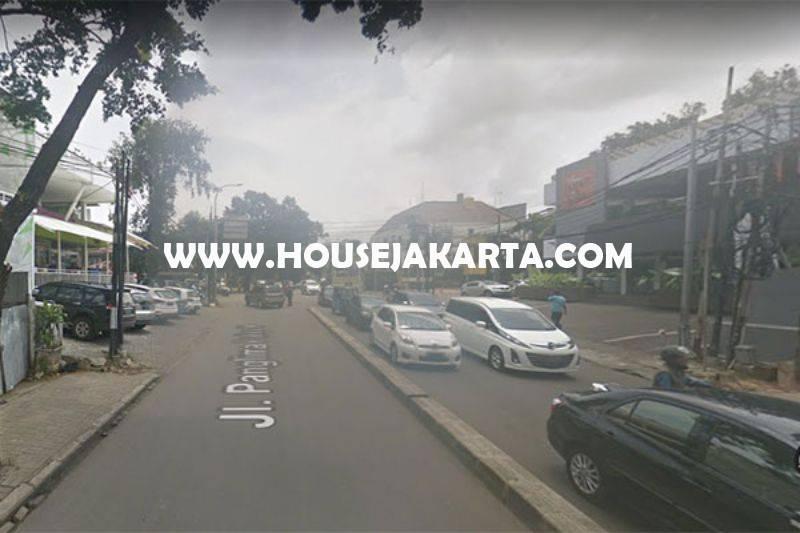 Rumah Toko Ruko Restoran Jalan Panglima Polim IX Kebayoran Baru Dijual