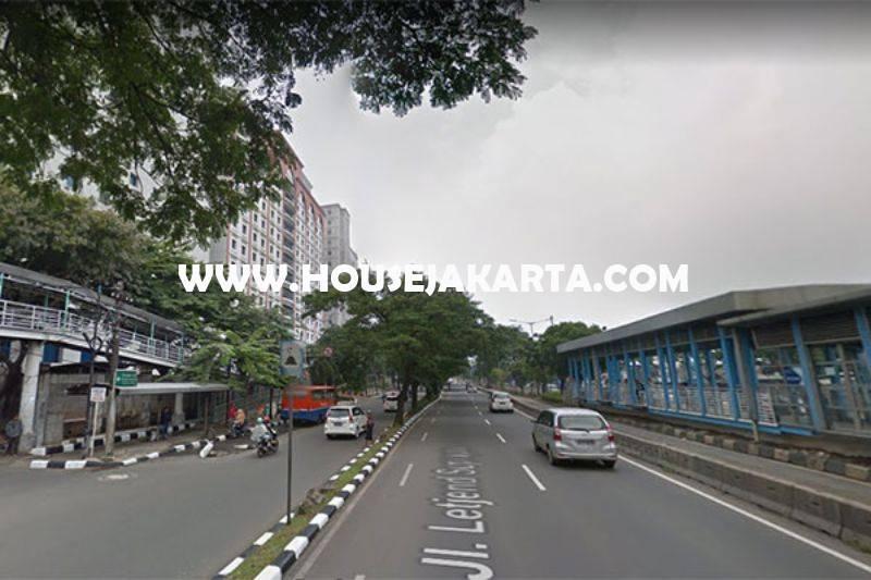 Tanah Komersial Jalan Letjen Soeprapto Jakarta Pusat ijin Gedung 8 Lantai Dijual Murah