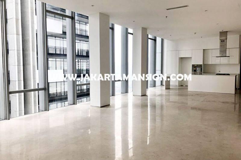 Apartement Senopati Suite Kebayoran Baru dekat SCBD Sudirman 4 BedRooms luas 300m Dijual Murah