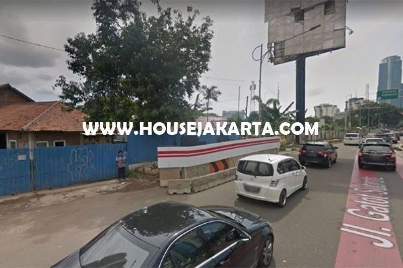 Tanah Jalan Gatot Subroto Jakarta Selatan Dijual Murah Luas 1,4 hektar bisa 3 tower ijin 60 Lantai