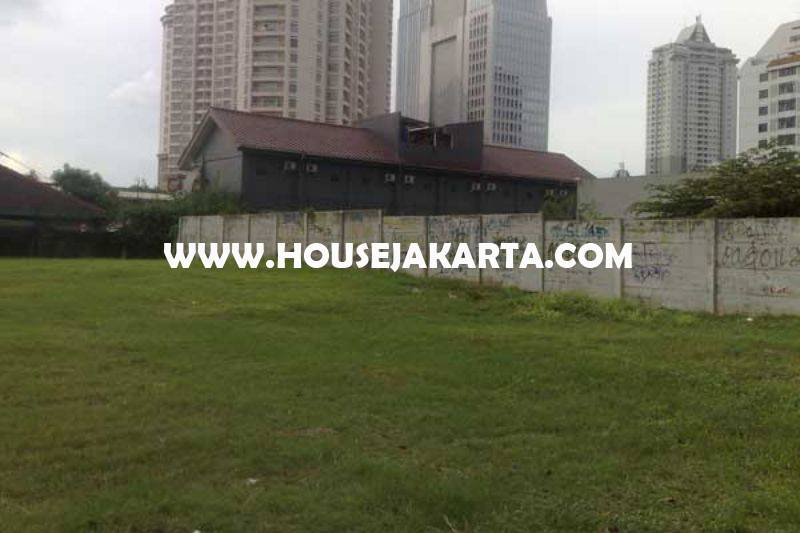 Tanah Jalan HR Rasuna Said Kuningan Luas 8000m Dijual ijin Komersial Gedung Office Apartement 30 Lantai