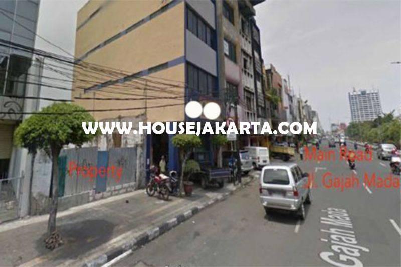 Tanah Komersial Jalan Gajah Mada Harmoni Taman Sari Dijual Murah ijin gedung 16 lantai
