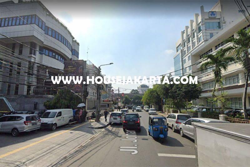Tanah Komersial jalan Johar menteng Dijual Murah 63 juta/m persegi dekat MH Thamrin