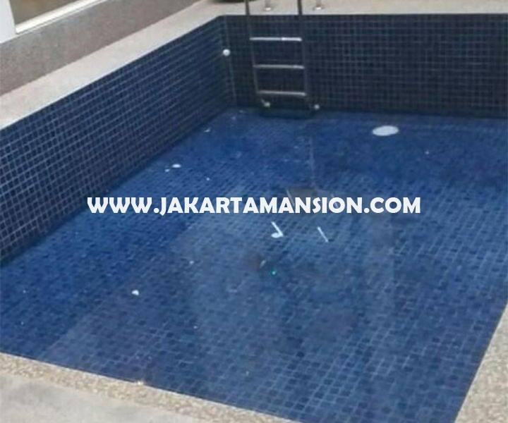 HS1271 Rumah Baru Jalan Lembang Menteng Dijual Murah 2 lantai ada Swimming Pool