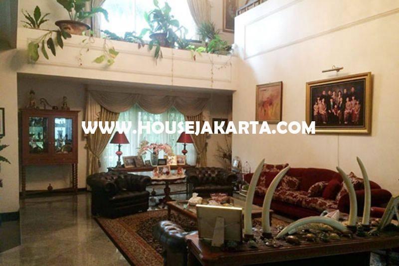 Rumah Jalan Mataram Senopati Kebayoran Baru dekat SCBD Sudirman Dijual