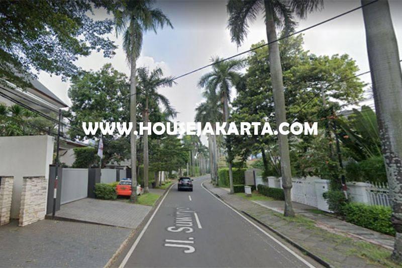 Rumah Jalan Suwiryo Menteng Hitung Tanah luas 1250m Dijual Murah 100juta/m Jarang Ada