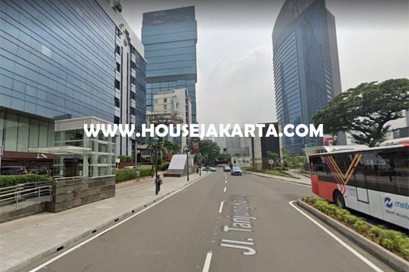 Gedung Kantor Daerah Tanjung Karang dekat Sudirman Thamrin Dijual Murah bisa dibangun 12 lantai