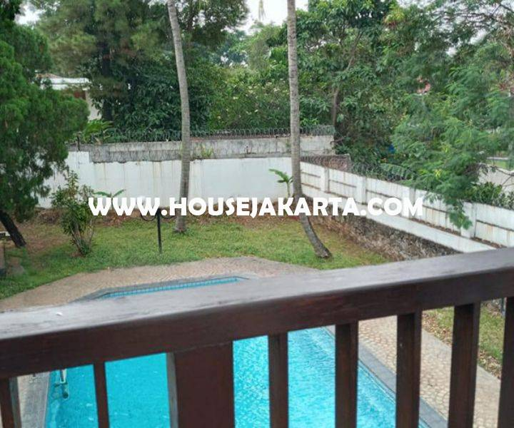 Rumah ada Swimming Pool Jalan Kemang Timur Dijual Murah 15 juta/m Luas 2.000m