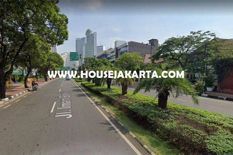 Rumah 2 Lantai Jalan Imam Bonjol Menteng Dijual Murah Hitung Tanah Bentuk Persegi