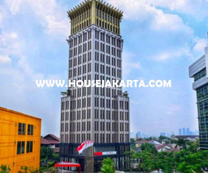 Gedung Kantor 15 Lantai Jalan Raya TB Simatupang Dijual Office Building Lokasi Premium