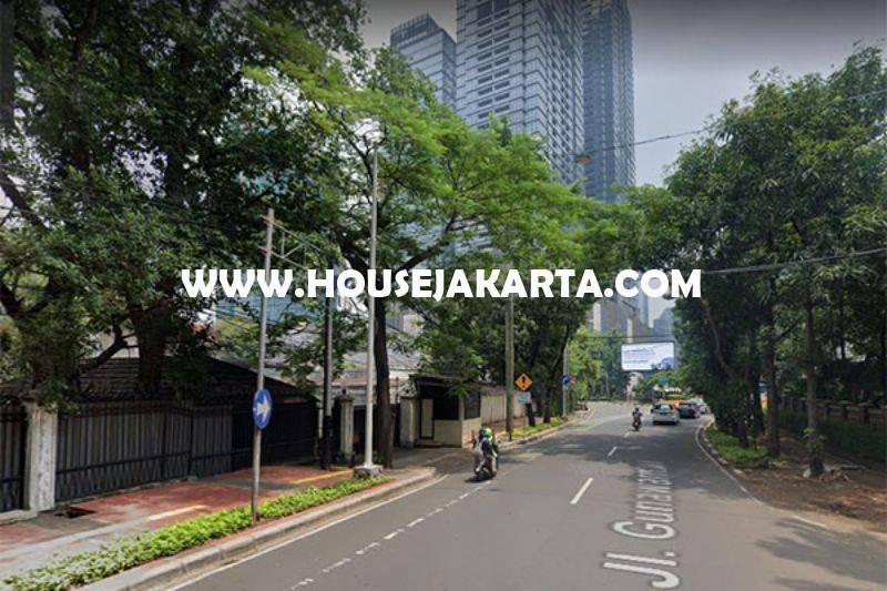 Komersial Jalan Gunawarman Raya Senopati dekat SCBD Sudirman Bisa Buat Usaha Dijual Murah