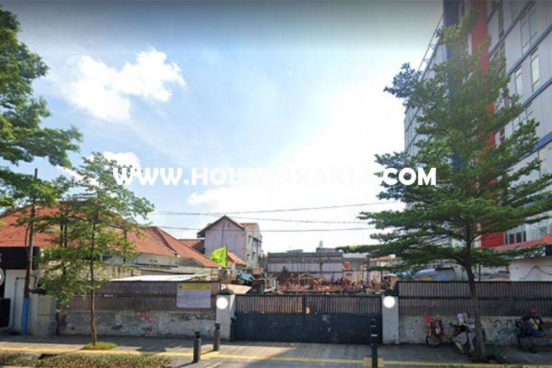 Tanah Komersial Jalan Kramat Raya Jakarta Pusat ijin 8 Lantai Dijual Murah 40 juta/m