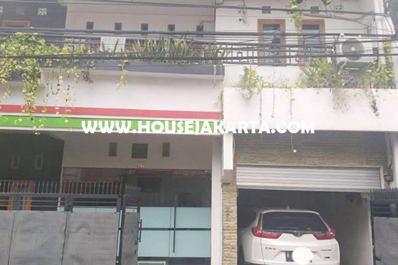 Rumah 3 lantai Jalan Duren Tiga Selatan no 16a Pancoran Kalibata Dijual Murah 2,6M