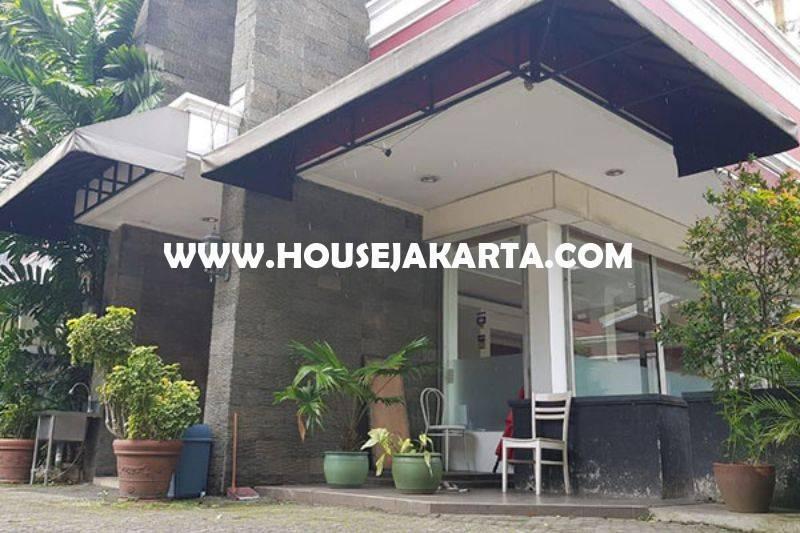 Rumah Toko ex cafe jalan Raya Ahmad Dahlan Kebayoran Baru Dijual Murah Bisa Komersial