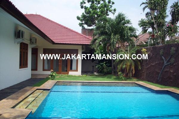 Rumah Kemang Dalam Jakarta Selatan disewakan