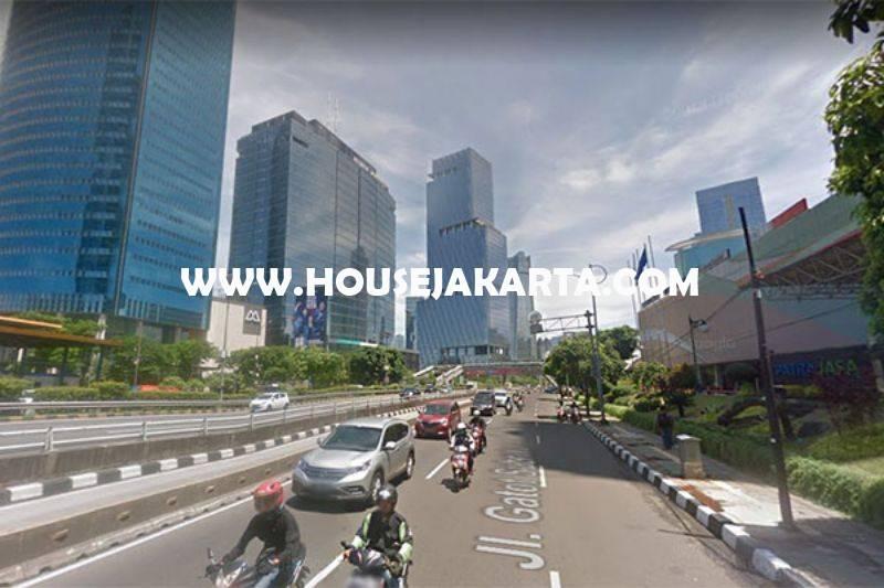 Tanah Komersial Jalan Gatot Subroto dekat HR Rasuna Said Kuningan Dijual Murah Harga NJOP bisa 20 Lantai