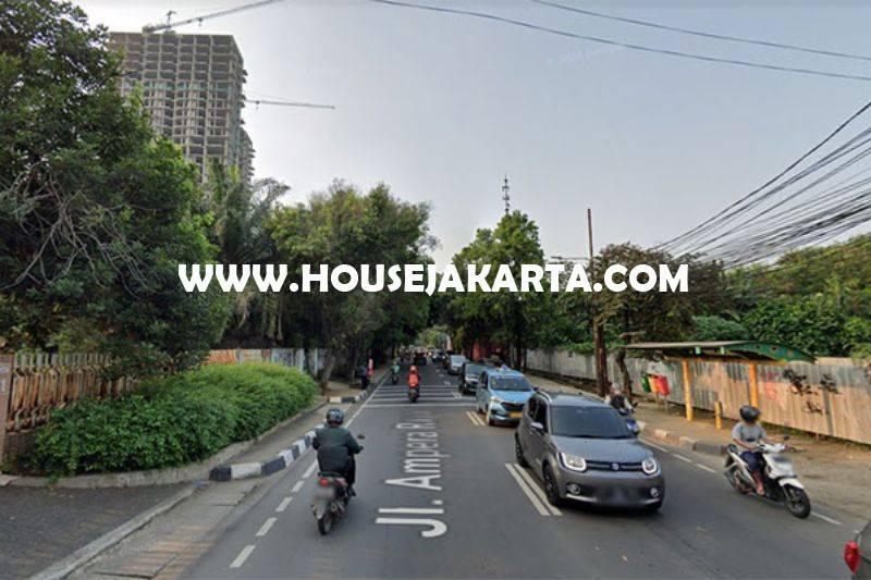 Tanah Komersial Jalan Ampera raya Kemang dekat Simatupang Dijual Murah 25 juta/m