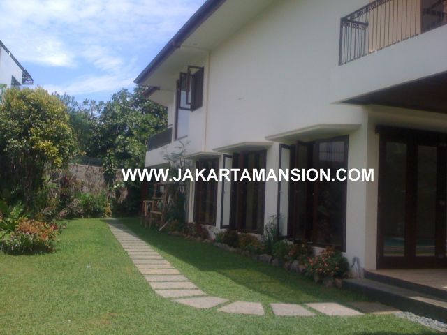 House with Big Garden in Kemang