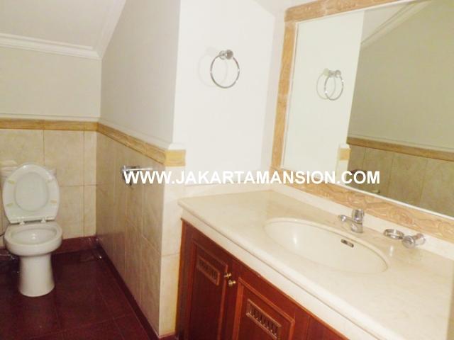 HR357 House for rent at Pondok Indah