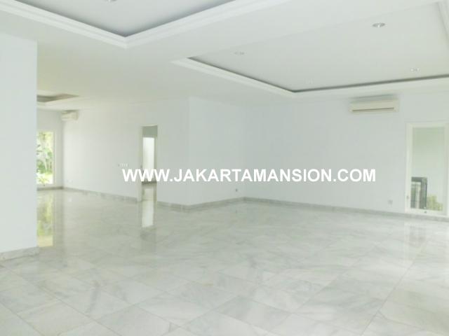 House for rent at Senayan Kebayoran Baru