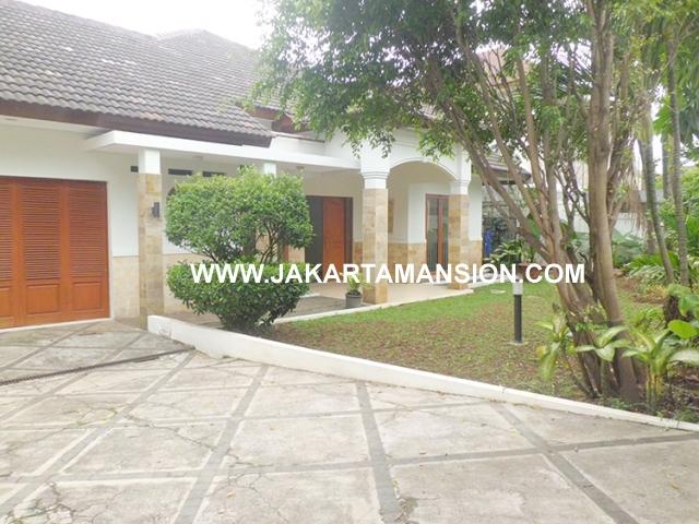 House for rent at Jeruk Purut Kemang