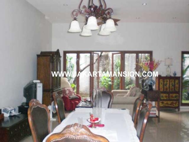 Rumah Jalan Cemara Senopati Kebayoran Baru Dijual