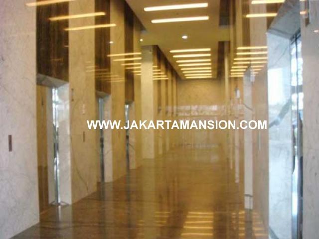 Kantor Gedung Baru Office Space Sahid Sudirman dijual
