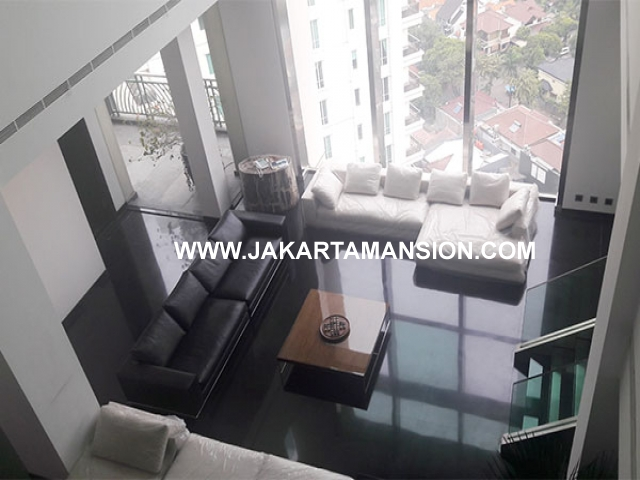 Apartement for sale Penthouse Pakubuwono Residence 2 lantai with swimming pool Dijual