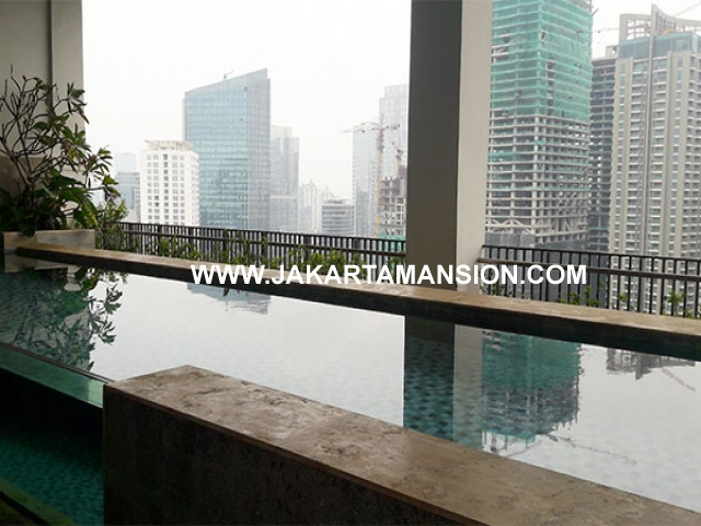 Apartement for Sale Penthouse Senopati Suite 2 lantai with swimming pool Dijual scbd