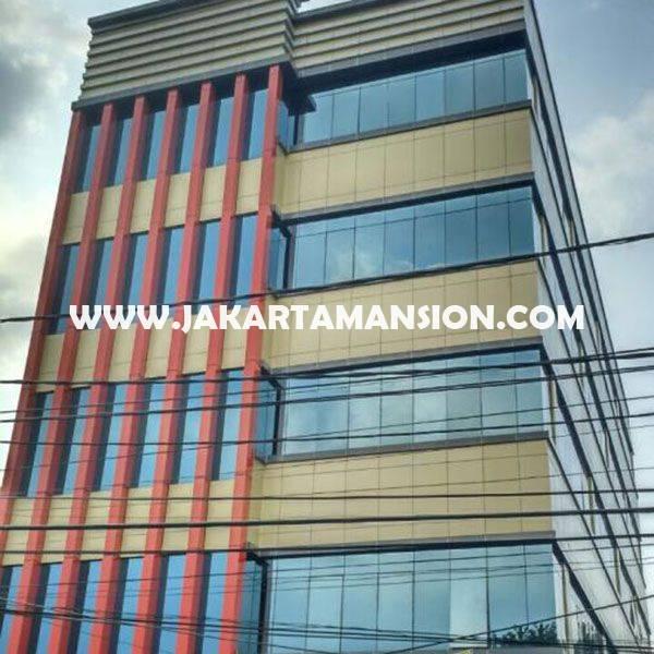 Gedung Kantor Baru 5 lantai Cikini Menteng Jakarta Pusat Dijual Murah