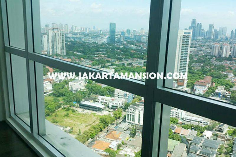 Apartement Kemang Village tower THE RITZ 3bedrooms 165m Dijual Murah 4,8 Milyar City View