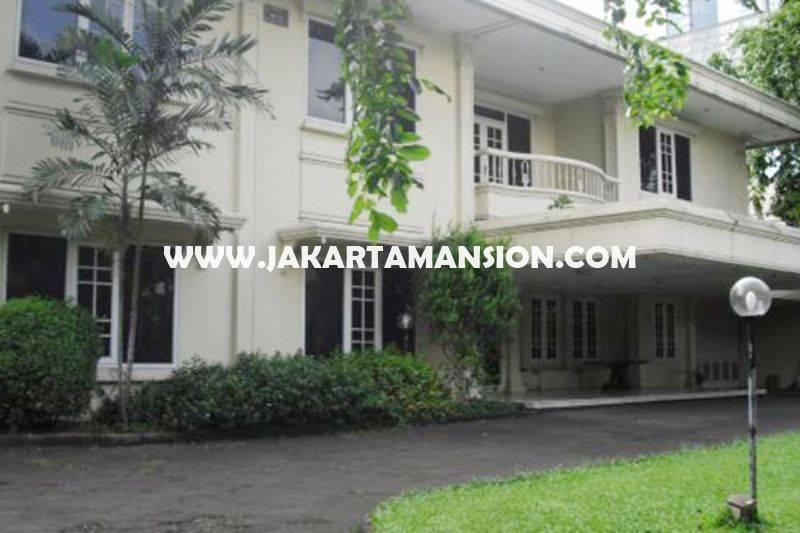 HS757 Rumah Jalan Diponegoro Menteng Luas 2500m Dijual Murah Hitung Tanah 130juta/m Golongan C
