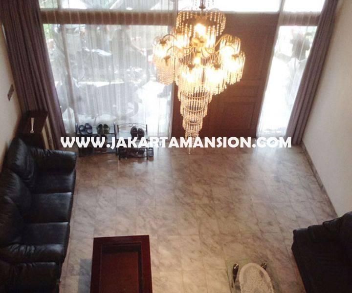 Rumah Jalan Tulodong Senopati SCBD Sudirman 2 lantai Dijual Murah 22 Milyar