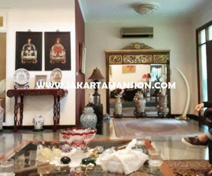Rumah Jalan Mataram Senopati Kebayoran Baru dekat SCBD Sudirman Dijual Murah