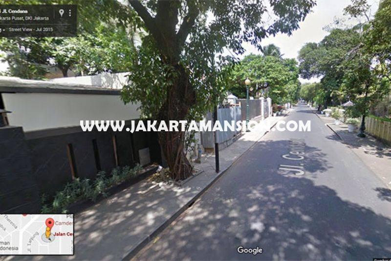 Rumah Jalan Cendana Menteng Jakarta Pusat Dijual Murah ada Swimming Pool