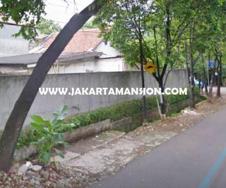Rumah tua jalan Hang jebat Kebayoran baru dijual murah hitung tanah