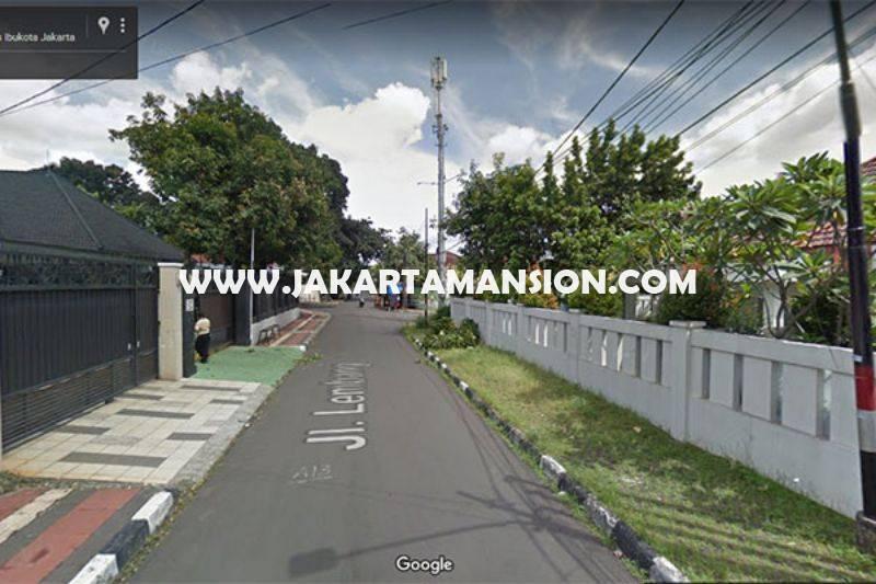 Rumah Tua Jalan Lembang Menteng Jakarta Pusat Dijual Murah hitung tanah 80 juta/m