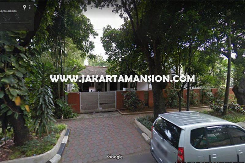 Rumah Jalan Gereja Theresia Menteng Dijual Murah 79 juta/m Golongan C