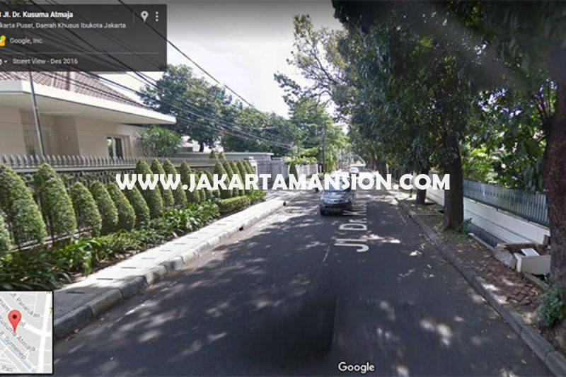 Rumah Jalan Kusuma atmadja Menteng Dijual Murah hitung tanah kotak Golongan C