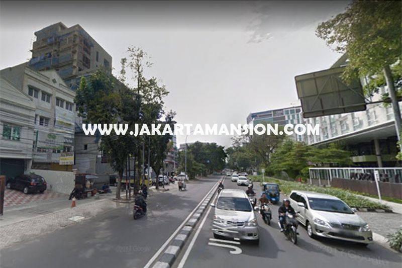 Rumah hitung tanah Jalan Wahid Hasyim Menteng Dijual Murah bisa bangun 6 lantai