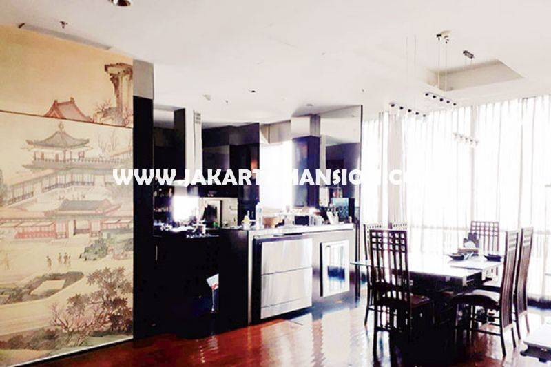 Apartement The Peak Sudirman luxury furniture Dijual Murah luas 238m City view