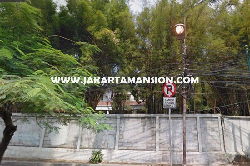 Tanah jalan Melawai Raya Kebayoran Baru Dijual Murah bisa dibangun 6 lantai