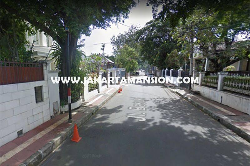 Rumah Jalan Besuki Menteng Dijual Murah Bangunan Tua Hitung Tanah Kotak